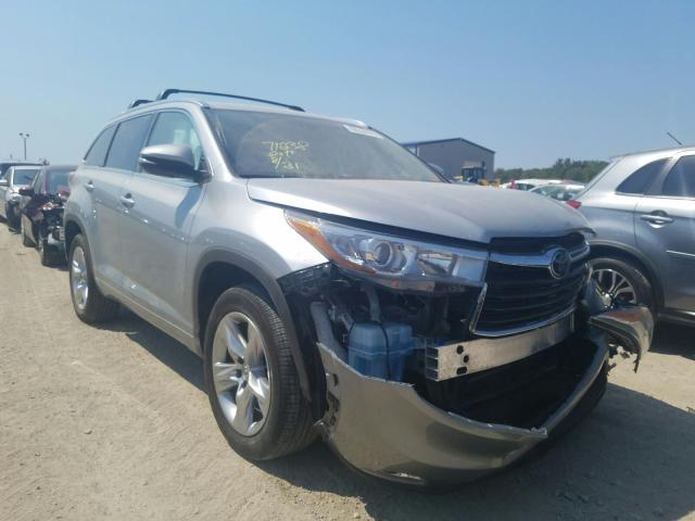Toyota salvage cars for sale: 2015 Toyota Highlander