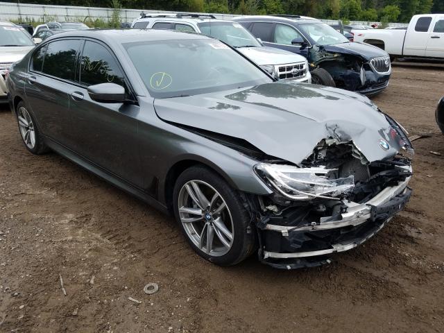 Salvage cars for sale from Copart Davison, MI: 2016 BMW 750 XI