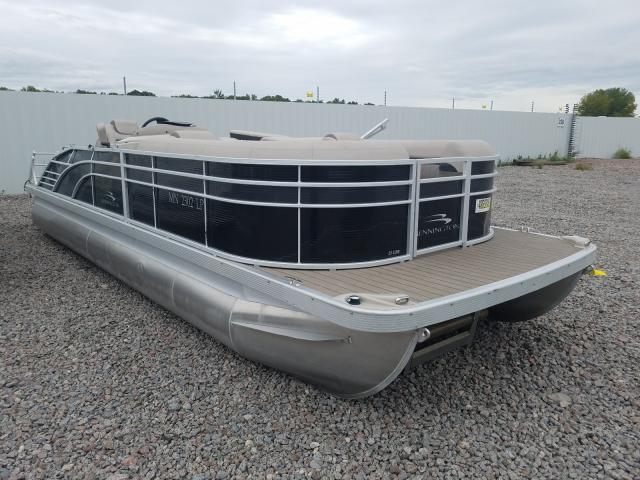 Bennche Pontoon salvage cars for sale: 2017 Bennche Pontoon