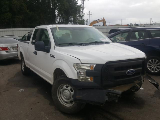 Vehiculos salvage en venta de Copart Dunn, NC: 2015 Ford F150 Super