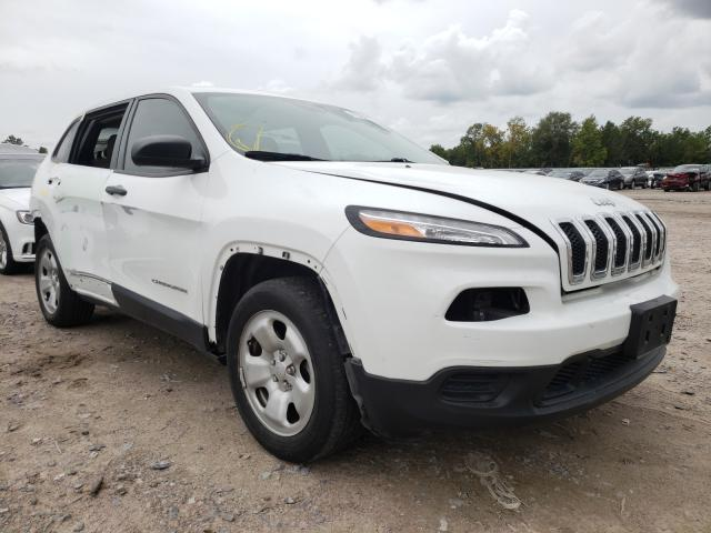 Jeep Cherokee S salvage cars for sale: 2015 Jeep Cherokee S