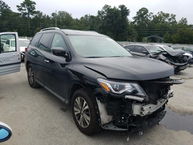 Salvage cars for sale from Copart Savannah, GA: 2019 Nissan Pathfinder