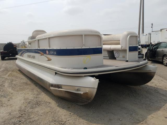 Salvage cars for sale from Copart Rancho Cucamonga, CA: 2005 Crestliner Boat