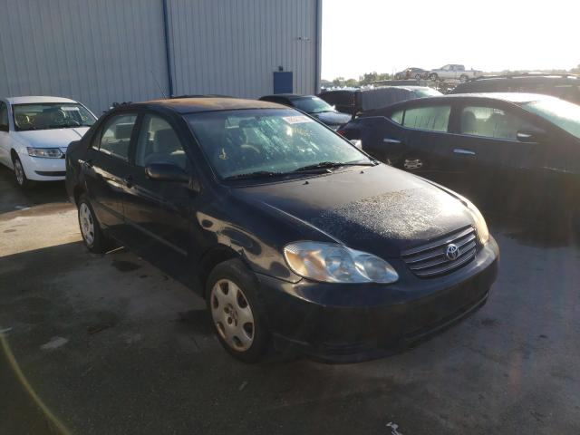 Salvage cars for sale from Copart Apopka, FL: 2004 Toyota Corolla CE