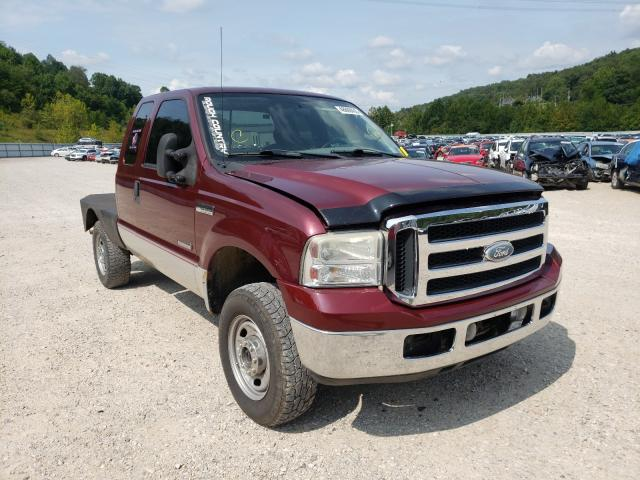 Salvage cars for sale from Copart Hurricane, WV: 2007 Ford F250SUPDTY