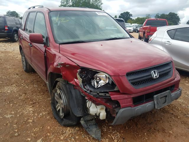 Honda Pilot salvage cars for sale: 2005 Honda Pilot