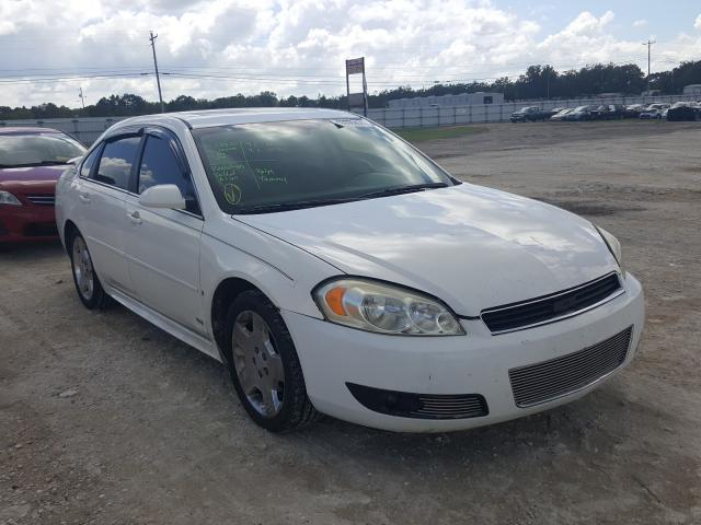 Salvage cars for sale from Copart Newton, AL: 2009 Chevrolet Impala SS
