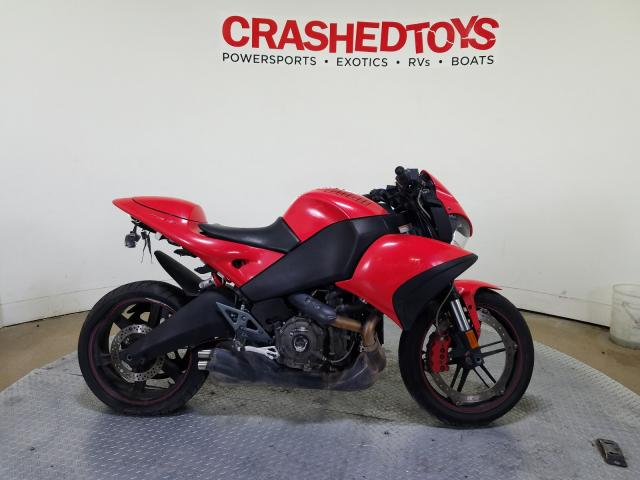 Buell salvage cars for sale: 2009 Buell 1125 CR