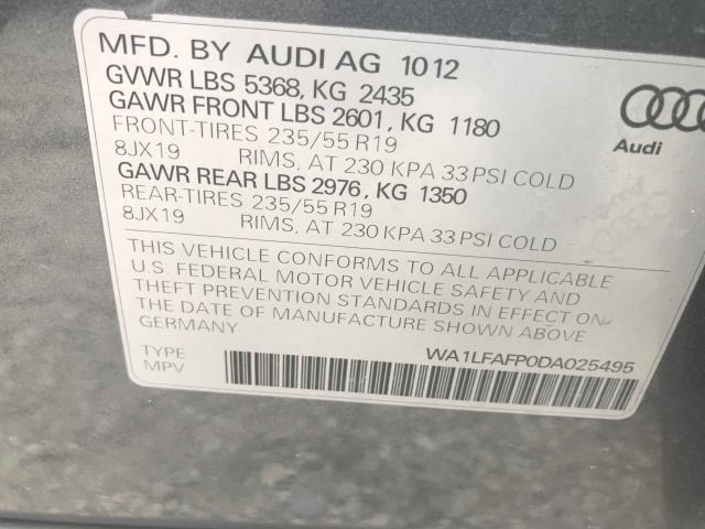WA1LFAFP0DA025495