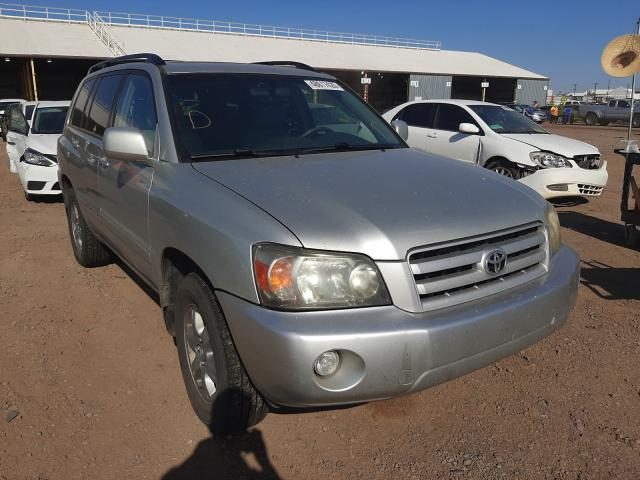 Salvage cars for sale from Copart Phoenix, AZ: 2004 Toyota Highlander