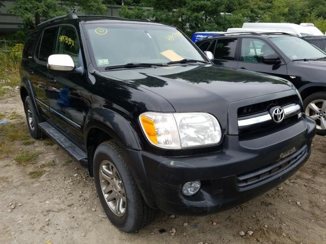 Toyota Sequoia salvage cars for sale: 2007 Toyota Sequoia