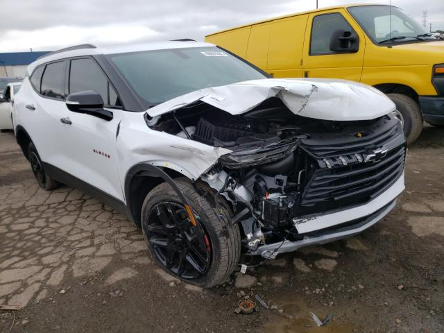 Chevrolet Blazer 2LT salvage cars for sale: 2020 Chevrolet Blazer 2LT