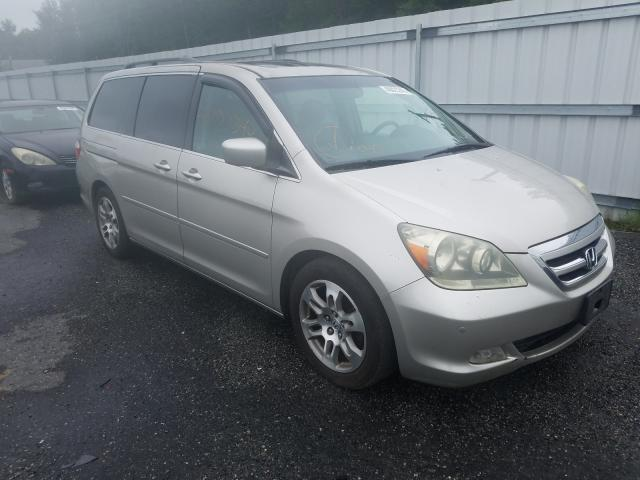 Salvage cars for sale from Copart Fredericksburg, VA: 2006 Honda Odyssey TO