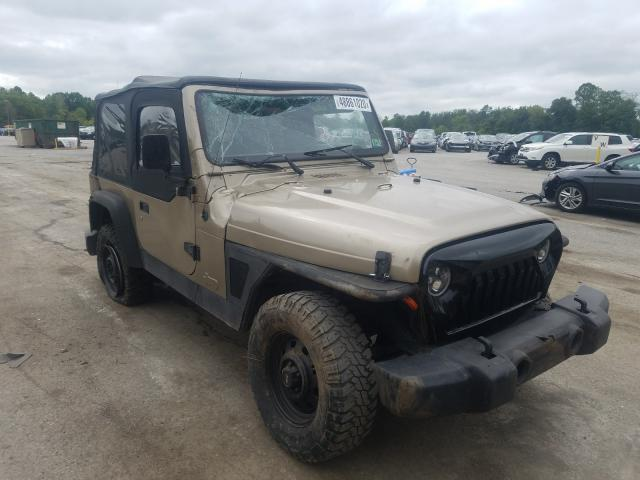 Jeep Wrangler salvage cars for sale: 2003 Jeep Wrangler