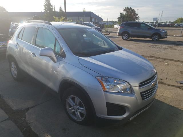2016 Chevrolet Trax 1LT en venta en Woodhaven, MI