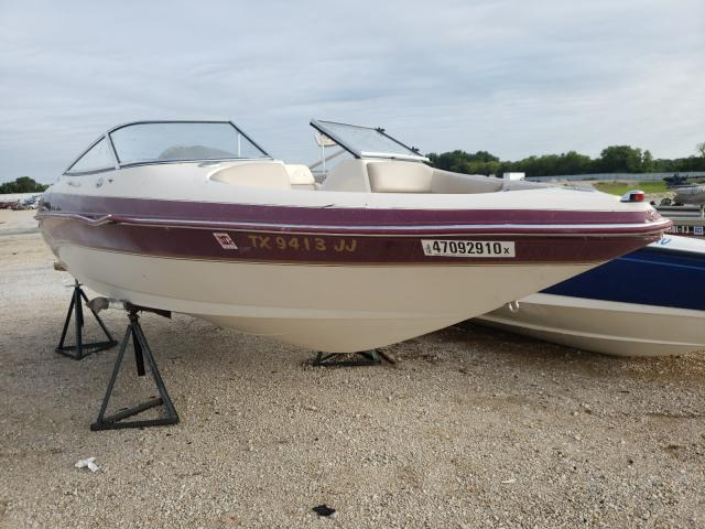 Salvage cars for sale from Copart Wilmer, TX: 2000 Larson Boat