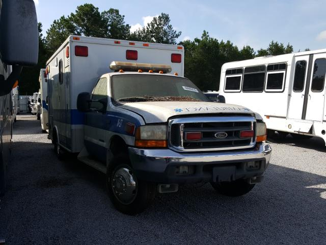 Salvage cars for sale from Copart Harleyville, SC: 1999 Ford F450 Super