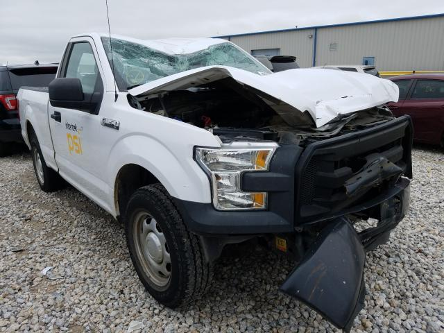 Salvage cars for sale from Copart Haslet, TX: 2015 Ford F150
