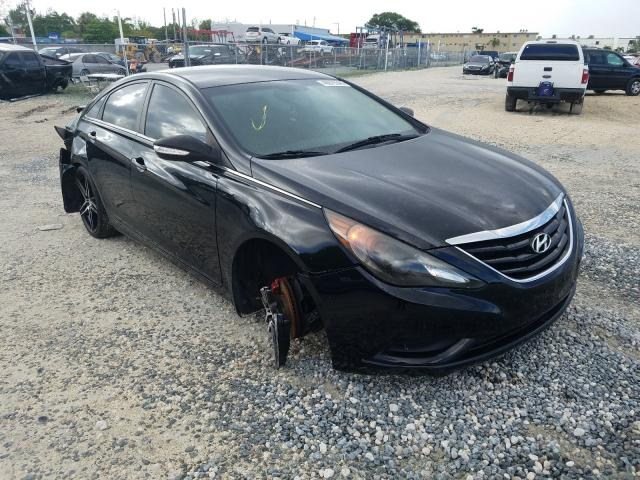 Salvage cars for sale from Copart Fort Pierce, FL: 2012 Hyundai Sonata GLS