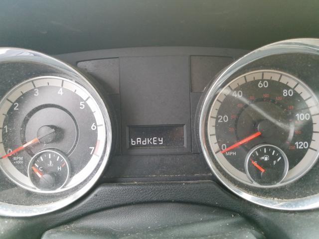 2011 DODGE GRAND CARA - Odometer View