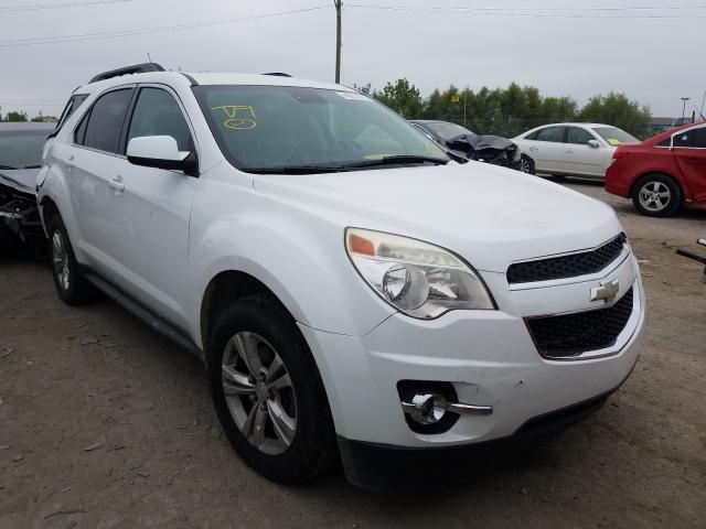 Chevrolet Equinox LT salvage cars for sale: 2012 Chevrolet Equinox LT