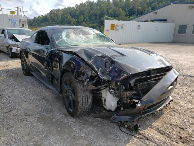 Salvage cars for sale from Copart Hurricane, WV: 2019 Ford Mustang GT