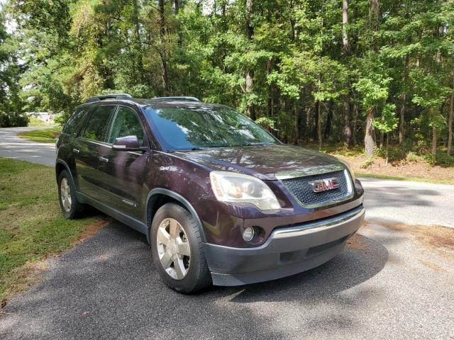 Salvage cars for sale from Copart Harleyville, SC: 2008 GMC Acadia SLT
