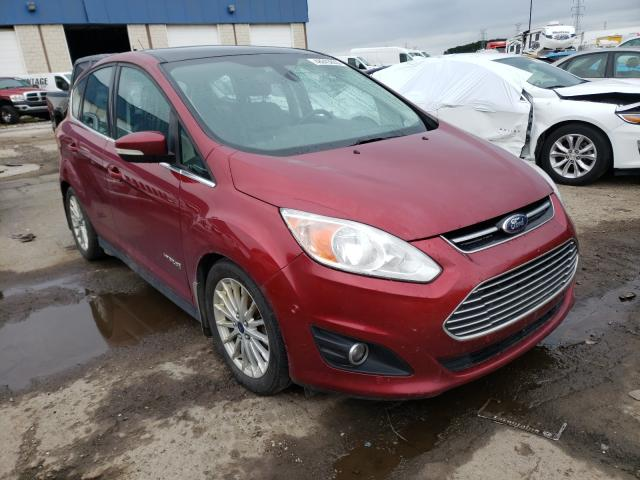 Salvage cars for sale at Woodhaven, MI auction: 2014 Ford C-MAX SEL