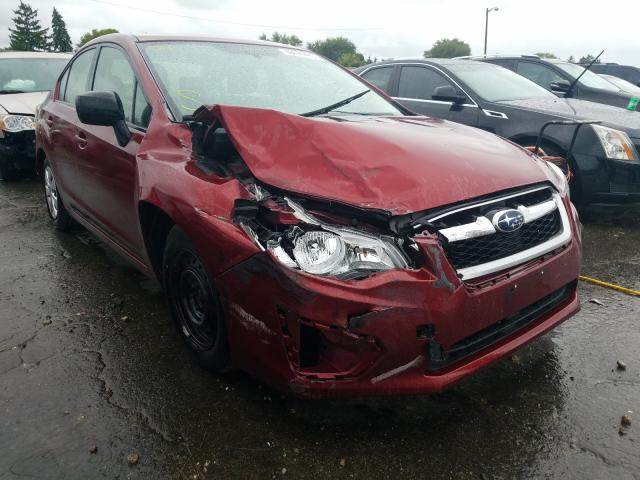 Subaru Impreza salvage cars for sale: 2012 Subaru Impreza