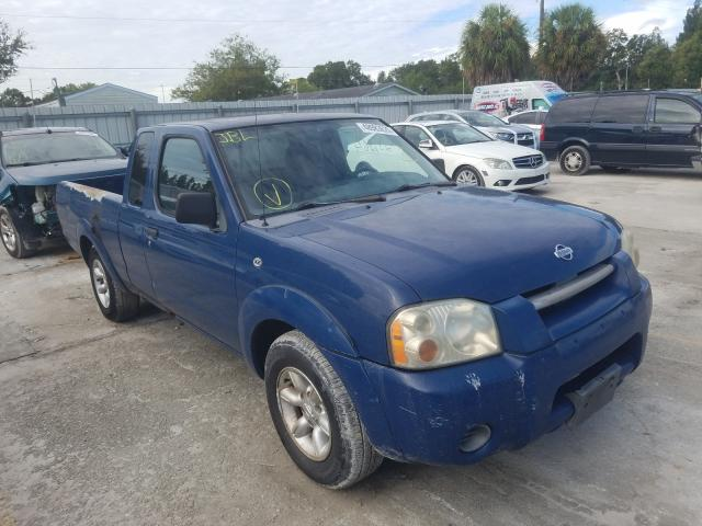 Salvage cars for sale from Copart Punta Gorda, FL: 2001 Nissan Frontier K