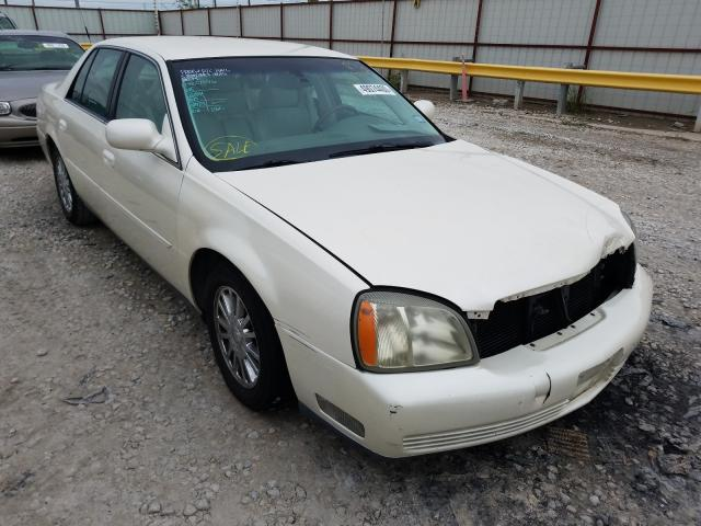 Salvage cars for sale from Copart Haslet, TX: 2003 Cadillac Deville DH
