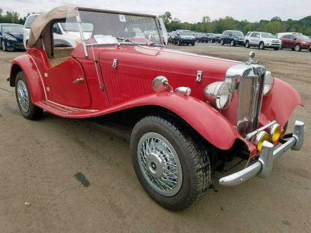 MG Vehiculos salvage en venta: 1985 MG KIT Car