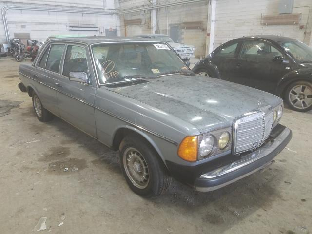 Salvage cars for sale from Copart Fredericksburg, VA: 1981 Mercedes-Benz 240 D
