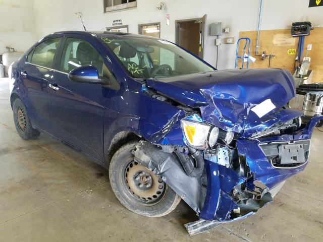 Salvage cars for sale from Copart Atlantic Canada Auction, NB: 2013 Chevrolet Sonic LT