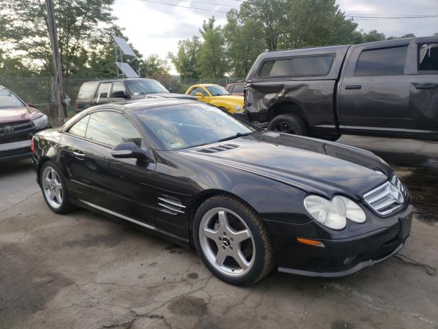Mercedes-Benz SL 500R salvage cars for sale: 2003 Mercedes-Benz SL 500R