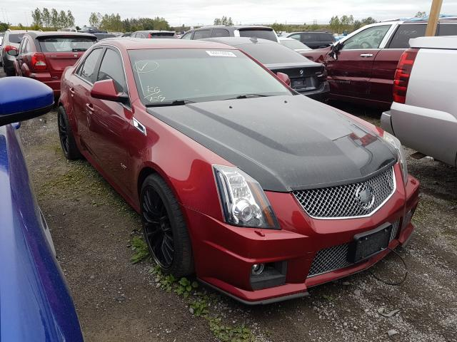 Cadillac salvage cars for sale: 2011 Cadillac CTS-V