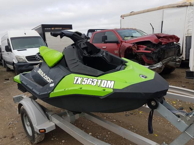 Salvage cars for sale from Copart Houston, TX: 2016 Seadoo Spark