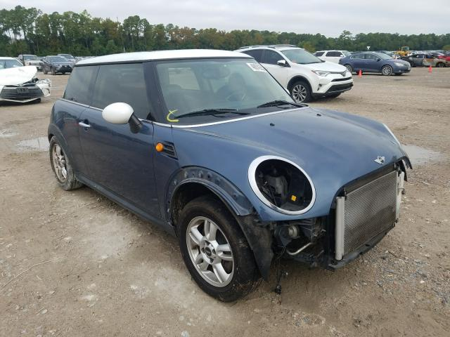 Salvage cars for sale from Copart Houston, TX: 2011 Mini Cooper