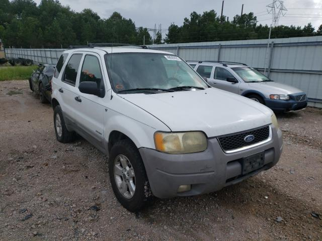 Vehiculos salvage en venta de Copart Charles City, VA: 2002 Ford Escape XLT