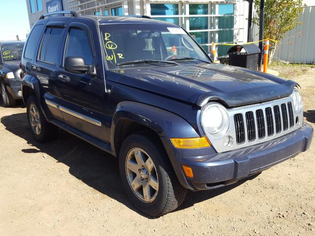 Jeep salvage cars for sale: 2006 Jeep Liberty LI