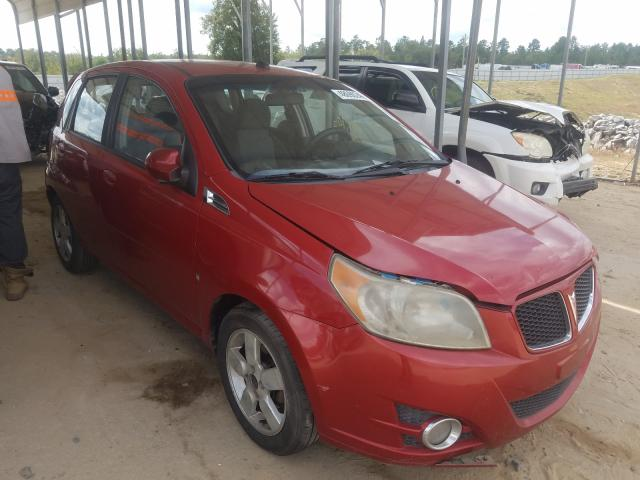 Salvage cars for sale from Copart Gaston, SC: 2009 Pontiac G3