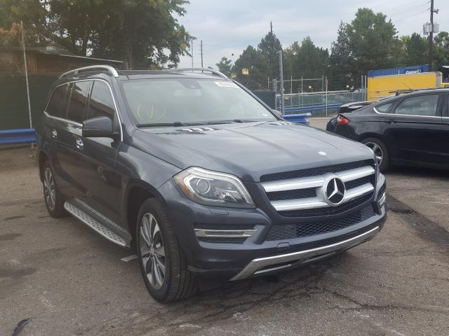 Salvage cars for sale from Copart Denver, CO: 2013 Mercedes-Benz GL 450 4matic