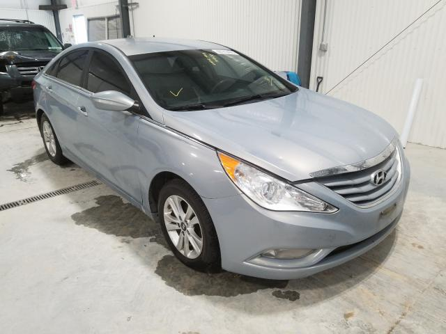 Salvage cars for sale from Copart Greenwood, NE: 2013 Hyundai Sonata GLS