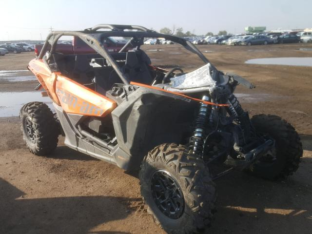 Salvage cars for sale from Copart Brighton, CO: 2019 Can-Am Maverick X