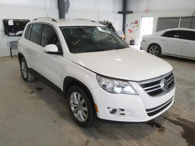 Salvage cars for sale from Copart Greenwood, NE: 2011 Volkswagen Tiguan S