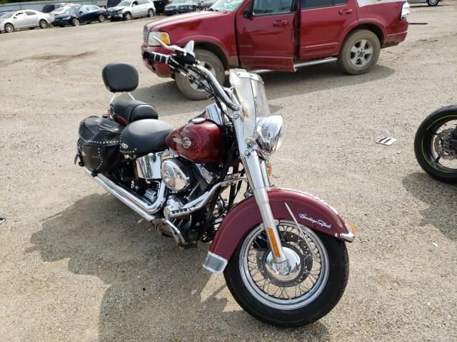 Salvage cars for sale from Copart Pekin, IL: 2002 Harley-Davidson Flstci
