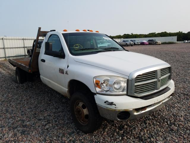 Dodge salvage cars for sale: 2007 Dodge RAM 3500