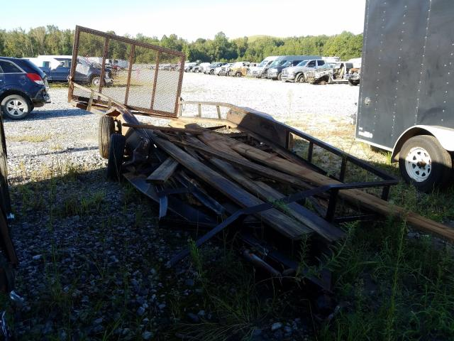 Trail King Trailer salvage cars for sale: 2000 Trail King Trailer