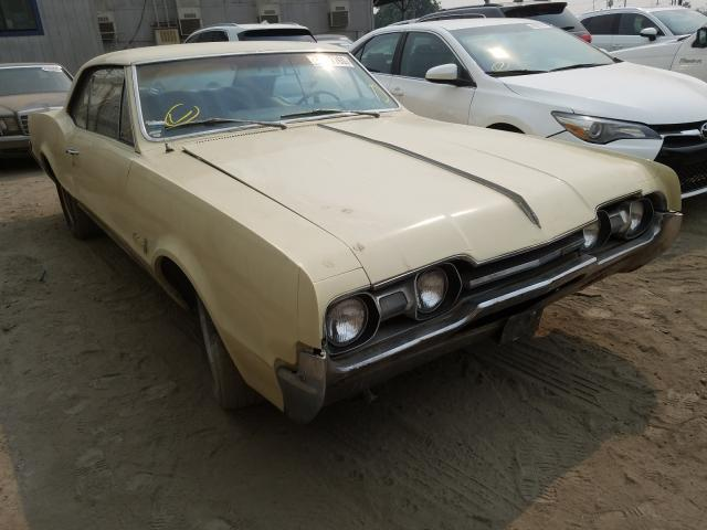 Oldsmobile salvage cars for sale: 1967 Oldsmobile CP