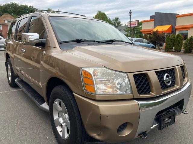 Salvage cars for sale from Copart New Britain, CT: 2004 Nissan Armada SE